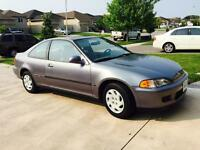 1995 Honda Civic SI EXTREMELY LOW KMS