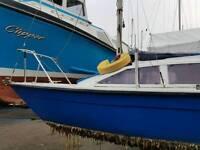19 ft yacht plus engine