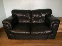 2 seater quality leather sofa £65 One day sale