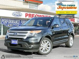 2015 Ford Explorer XLT>>>leather, NAV, 20's, moonroof<<<
