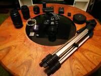 Full Olympus e-620 setup