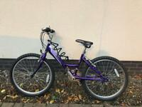 Purple raleigh bike for sale
