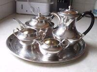 Silver-plated Tea Service