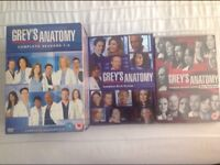 Selection of box sets and single dvd's