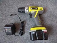 Ryobi LSDT120 12v Cordless Drill Driver & Charger