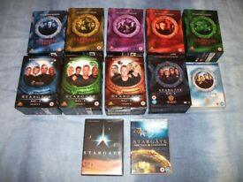 Stargate SG-1 Complete DVD Boxset Collection + BONUS