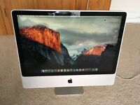 "Apple iMac 24"" 2007 4GB RAM, 320 GB disc"