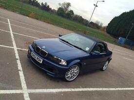 BMW 3 SERIES CONVIRTIBLE E46 325CI MSPORT *HEAD TURNER* £2900 ONO