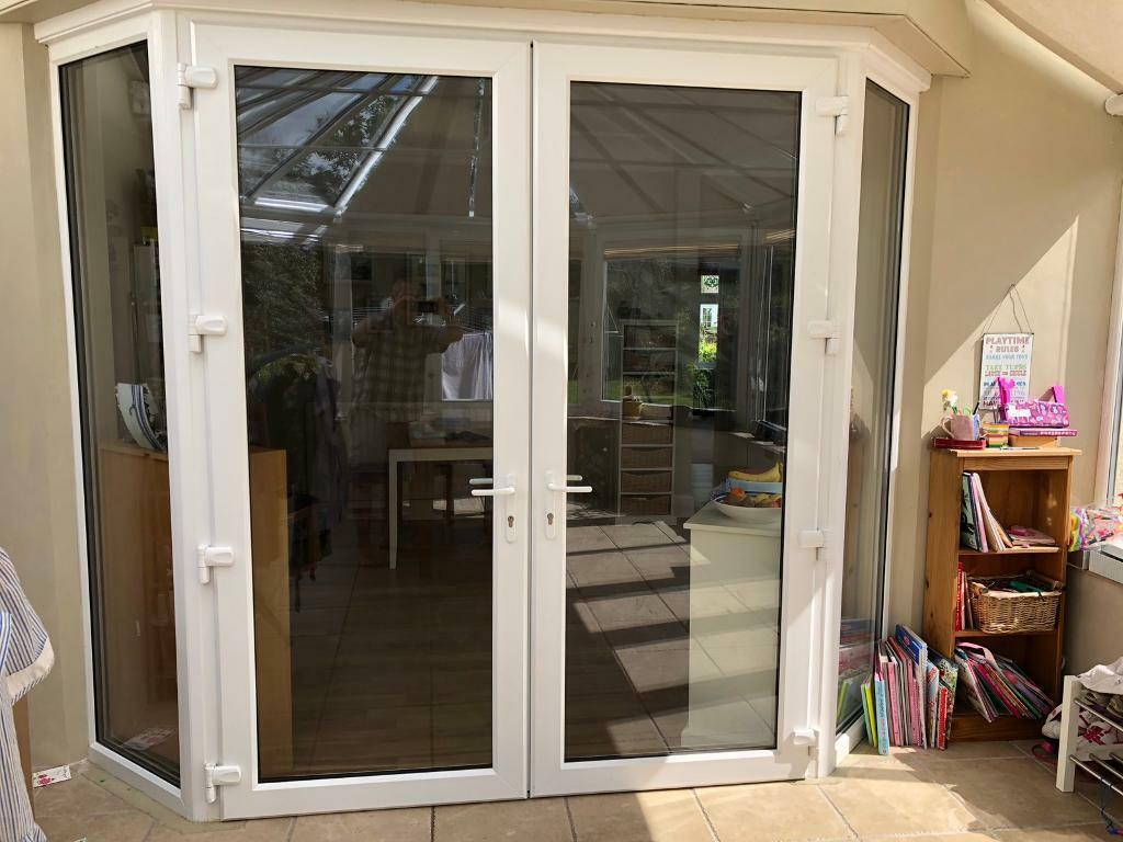 French Doors Full Height Bay Window