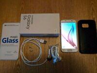 *** Samsung Galaxy S6, 64GB, unlocked, perfect ***