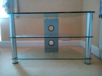 Glass TV/Media Unit