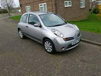 2003 (52) Nissan Micra 1.0 Petrol 5 Speed Silver MOT 04/17 CHEAP 1ST CAR/RUNNEROUND BARGIN CHEAP CAR