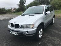 \\\\ 02 BMW X5 3.0 SPORT AUTOMATIC ,,, EXCELLENT CONDITION ONLY £2999