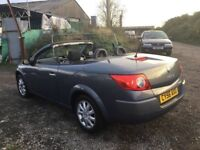 2006 RENAULT MEGANE CONVERTIBLE IN VGCONDITION Only 72000 MILES GENUINE NEW BRAKES MOT PX WELCOMe