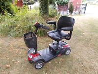 CARECO ZOOM MOBILITY SCOOTER IN RED very nippy and in good condition