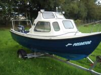Orkney Strikeliner 16 c/w 30HP Yamaha and Trailer