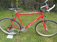 Raleigh USA Cromo Max Steel Retro Mountain Bike Shimano STX RC Located bridgend Area