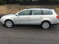 2010 Silver Passat Highline 2.0TDI (140) Estate with 12 months M.O.T