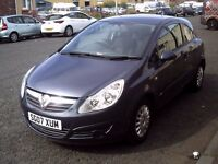 2007 07 VAUXHALL CORSA 1.2 LIFE 3DR ** ONLY 49164 MILES ** ONE OWNER FROM NEW ** SERVICE HISTORY **