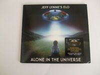 JEFF LYNNES ELO CD -ALONE IN THE UNIVERSE LIKE NEW