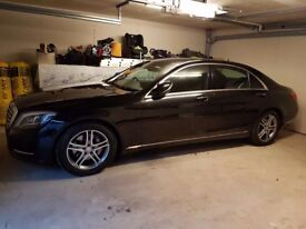Mercedes S350L Bluetec SE w222 bumpers and side skirts