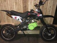 50cc dirt bike excellent condition