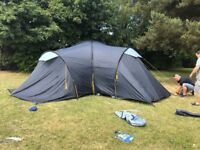 9 man tent and camping stove