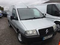 2004 DIESEL CITREON DISPATCH PANEL VAN TWO SIDE DOIRS IN AVERAGE CONDITION MOT CAME IN PX TODAY