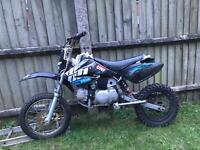 Off road stomp 110cc Pit bike