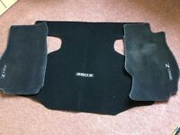 Nissan 350z genuine tailored front and boot mats