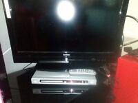 "26"" GOODMANS FREEVIEW HDMI TV ALSO PHILLIPS SLIMLINE DVD PLAYER BOTH £65"