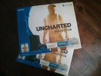 Two unopened, sealed, Uncharted Ps4 Bundles