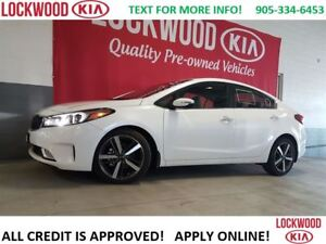 2017 Kia Forte SX - NAVI, LEATHER, SUNROOF, LOADED!!!