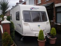 Bailey Pagent 2008 2 berth touring caravan single axle easy to tow with small or medium car