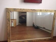 REDUCED - Extra Large Golden Mosaic Mirror Butler Wanneroo Area Preview