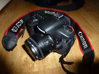 Canon EOS60D, 50mm fixed lens with UV filter + 32GB SD Card - Immaculate Condition, Hardly used!