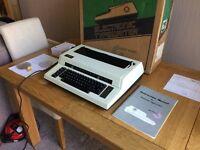 Hermes Top-Tronic 15 Electronic Daisywheel Typewriter