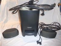 Bose 321 Series II Home Theatre System DVD sub woofer speakers remote control