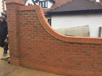 A Group of Bricklayers Looking for Any Private Masonry Work