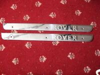 Rover 45 Door Chrome Kick Plates