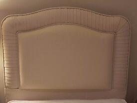 Headboard single bed