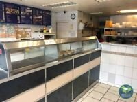 HOT FOOD TAKEAWAY/FISH & CHIP SHOP: GREAT HARWOOD: REF: G9127