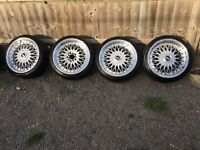 "18"" BBS Rep Wheels 5x100 5x112"