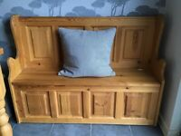 Pine Monks Bench