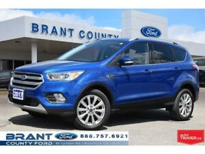2017 Ford Escape Titanium - CLEAN CARPROOF, LEATHER, NAV!