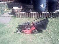 Mountfield 100cc motor mower.