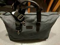 **BRAND NEW ** Davidoff Canvas Duffle Bag with Black Trim