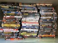 130+ DVD from sci-fi to romance and comedy