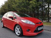 MAY 2011 FORD FIESTA ZETEC S 1.6 TDCI TURBO DIESEL FACTORY BODY STYLING LOVELY EXAMPLE ONLY £20 TAX!