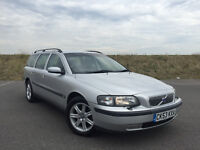 2003 VOLVO V70 S T 2.0 AUTOMAITC ESTATE FULL SERVICE HISTORY LOW MILES LONG MOT GREAT CAR!